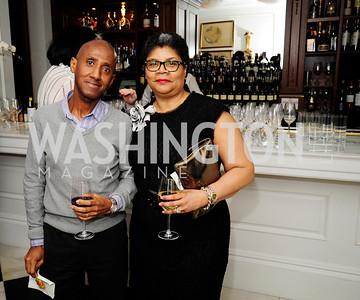 Neil Albert,Grace Pinkney,February 15,2013,Book Party for Lt.Gov.Gavin Newsom's ''Citizenville ''at The Jefferson Hotel,Kyle Samperton