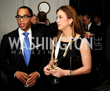 Jonathan Capehart,Betsy Fischer Martin,February 15,2013,Book Party for Lt.Gov.Gavin Newsom's ''Citizenville ''at The Jefferson Hotel,Kyle Samperton