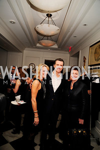 Elizabeth Bagley, Lt.Gov.Gavin Newsom, Ellen Tauscher,February 15,2013,Book Party for Lt.Gov.Gavin Newsom's ''Citizenville ''at The Jefferson Hotel,Kyle Samperton