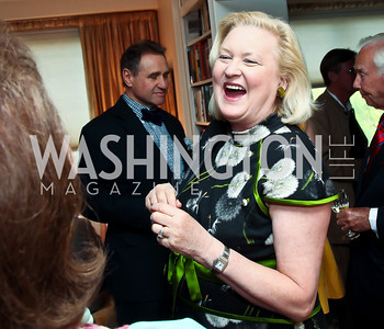 Diana Prince. Photo by Tony Powell. Lucky Roosevelt book party for Marie Arana. April 23, 2013