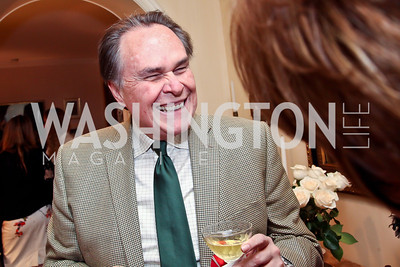 Peruvian Amb. Harold Forsythe. Photo by Tony Powell. Lucky Roosevelt book party for Marie Arana. April 23, 2013