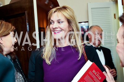 Katharine Weymouth. Photo by Tony Powell. Lucky Roosevelt book party for Marie Arana. April 23, 2013