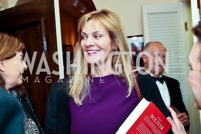 Katharine Weymouth. Photo by Tony Powell. Lucky Roosevelt book party for Marie Arana. April 23, 2013