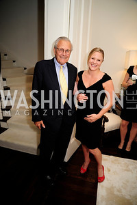 Former Sec.of Def.Donald Rumsfeld,Kailey Schleich, May 7,2013, Book Party for'' Rumsfelds Rules''Kyle Samperton