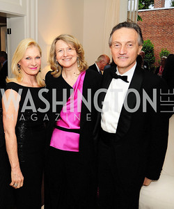 Susan Pillsbury,Laura Denise Bisogniero,Italian Amb,Claudio Bisgniero, May 7,2013, Book Party for'' Rumsfelds Rules''Kyle Samperton