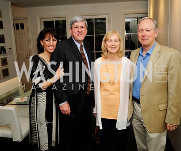 Pamela Feith,Douglas Feith,Debra  Gertz,Bill Gertz, May 7,2013, Book Party for'' Rumsfelds Rules''Kyle Samperton