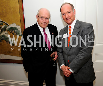 Former Vice Pres.Dick Cheney, Bothwell Lee,May 7,2013, Book Party for'' Rumsfelds Rules''Kyle Samperton
