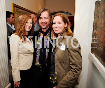Anne Gavin , Christopher Reiter,Juleanna Glover May 7,2013, Book Party for'' Rumsfelds Rules''Kyle Samperton