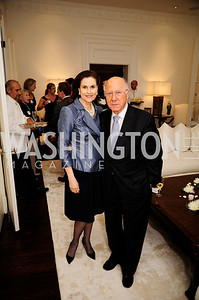 Alexandra de Borchgrave,Arnaud de Borchgrave, May 7,2013, Book Party for'' Rumsfelds Rules''Kyle Samperton