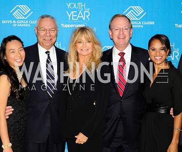 Meri Shan,Colin Powell,Goldie Hawn,Jim Clark,Misty Copeland,Shaun White,September 17,2013,Boys and Girls Club Youth of the Year Gala,Kyle Samperton
