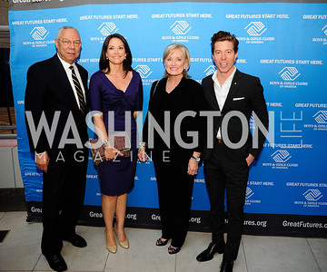 Colin Powell,Erica Hill, Susan Porcaro Goings,Shaun White,September 17,2013,Boys and Girls Club Youth of the Year Gala,Kyle Samperton