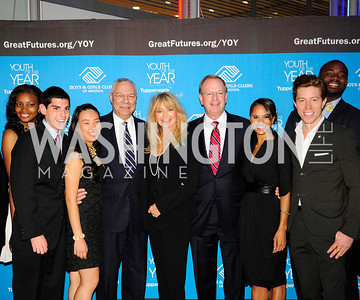 Kiana Knolland,Jessie Friedman,Meri Shan,Colin Powell,Goldie Hawn,Jim Clark,Misty Copeland,Shaun White,Rashaad Allen,September 17,2013,Boys and Girls Club Youth of the Year Gala,Kyle Samperton