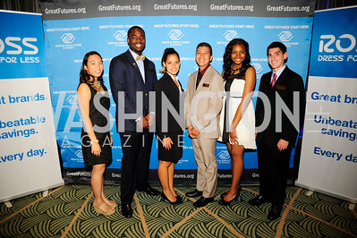 Meeri Shi,Rashaan Allen,Maraluz Olans,Yussymar Rojas,Kiana Knolland,Jesse FriedmanSeptember 17,2013,Boys and Girls Club Youth of the Year Gala,Kyle Samperton