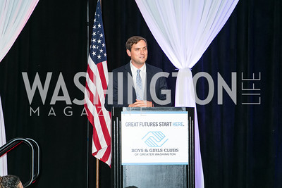 Luke Russert. Photo by Alfredo Flores. Boys and Girls Club of Greater Washington Tim Russert Dinner. JW Marriott. May 22, 2013