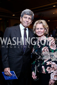 Stephen and Diana Goldberg. Photo by Tony Powell. Boys and Girls Clubs ICON '13 Dinner & Talent Showcase. Four Seasons. October 23, 2013