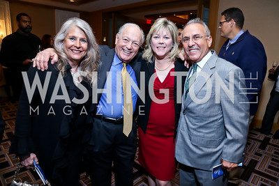 Barbara Hawthorne, Tom Mansbach, Lori Jenkins, Joe Farruggio. Photo by Tony Powell. Boys and Girls Clubs ICON '13 Dinner & Talent Showcase. Four Seasons. October 23, 2013