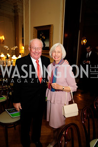 Leonard Burka,Frances Burka.  May 9,2013,Bravo Reception at The Residence of The Ambassdor of Brazil.Kyle Samperton