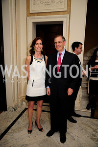Liddy Manson,Bruce Rosenblum,  May 9,2013,Bravo Reception at The Residence of The Ambassdor of Brazil.Kyle Samperton