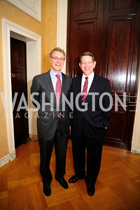 Jim Beller,Christopher Wolfe,  May 9,2013,Bravo Reception at The Residence of The Ambassdor of Brazil.Kyle Samperton