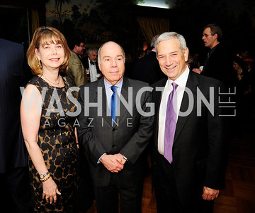 Susan Esserman,Brazilian Amb.Mauro Viera,Andrew Marks,May 9,2013,Bravo Reception at The Residence of The Ambassdor of Brazil.Kyle Samperton
