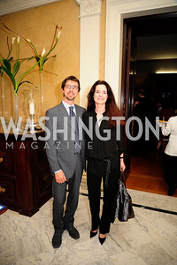 Antonello Bonci,Chiara Bonci  May 9,2013,Bravo Reception at The Residence of The Ambassdor of Brazil.Kyle Samperton