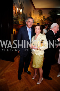 Tom Buzzuto,Barbara Bozzuto ,  May 9,2013,Bravo Reception at The Residence of The Ambassdor of Brazil.Kyle Samperton