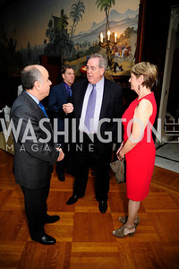Brazilian Amb.Mauro Viera,Mike Hansen,Nancy Hansen,  May 9,2013,Bravo Reception at The Residence of The Ambassdor of Brazil.Kyle Samperton