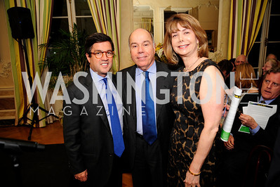 Alberto Moreno,Brazilian Amb.Mauro Viera, Susan Esserman,  May 9,2013,Bravo Reception at The Residence of The Ambassdor of Brazil.Kyle Samperton