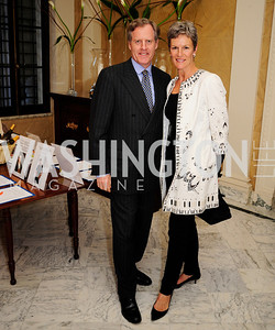 John Haugue,Meg Haugue,  May 9,2013,Bravo Reception at The Residence of The Ambassdor of Brazil.Kyle Samperton