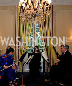 BSO Woodwind Quintent ,  May 9,2013,Bravo Reception at The Residence of The Ambassdor of Brazil.Kyle Samperton