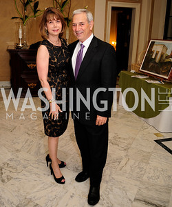 Susan Esserman,Andrew Marks,May 9,2013,Bravo Reception at The Residence of The Ambassdor of Brazil.Kyle Samperton