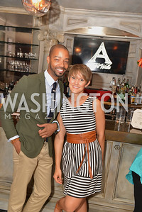 Sunday Party Brunch hosted by Andre Wells and Alan Popovsky.  Teddy's Bully Bar, Sunday October 6, 2013.  Photo by Ben Droz.