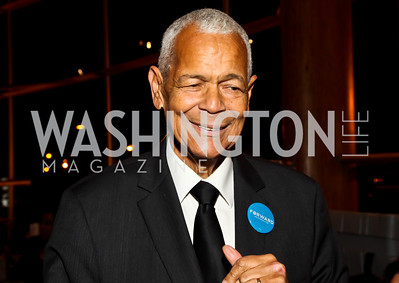Julian Bond. Photo by Tony Powell. Busboys and Poets Peace Ball. Arena Stage. January 20, 2013