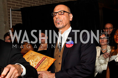 Busboys and Poets owner Andy Shallal. Photo by Tony Powell. Busboys and Poets Peace Ball. Arena Stage. January 20, 2013