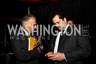 Ralph Nader, Ben Jealous. Photo by Tony Powell. Busboys and Poets Peace Ball. Arena Stage. January 20, 2013