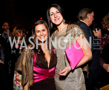 Rebecca Wainess, Liza Baron. Photo by Tony Powell. Busboys and Poets Peace Ball. Arena Stage. January 20, 2013