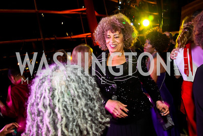 Political activist and author Angela Davis. Photo by Tony Powell. Busboys and Poets Peace Ball. Arena Stage. January 20, 2013