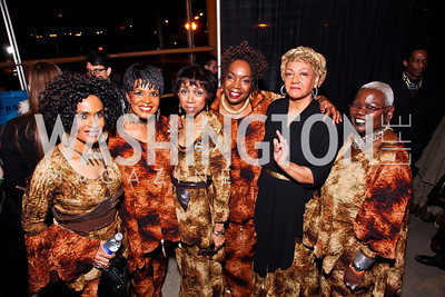 Sweet Honey in the Rock. Photo by Tony Powell. Busboys and Poets Peace Ball. Arena Stage. January 20, 2013