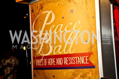 Photo by Tony Powell. Busboys and Poets Peace Ball. Arena Stage. January 20, 2013