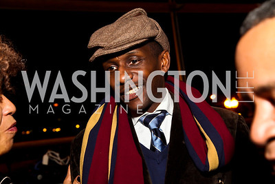 Photographer Tejan Karefa. Photo by Tony Powell. Busboys and Poets Peace Ball. Arena Stage. January 20, 2013