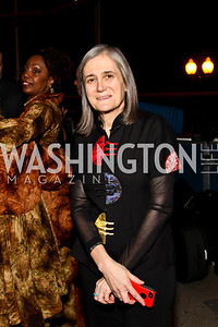 Democracy Now host Amy Goodman. Photo by Tony Powell. Busboys and Poets Peace Ball. Arena Stage. January 20, 2013