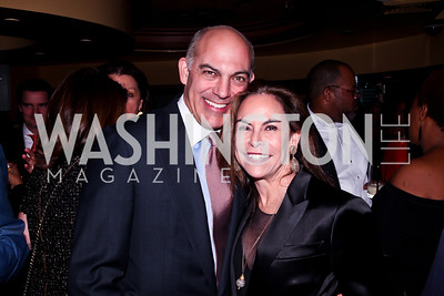 Jonathan Silver and Melissa Moss. Photo by Tony Powell. Cafe Milano Inaugural Celebration. January 21, 2013