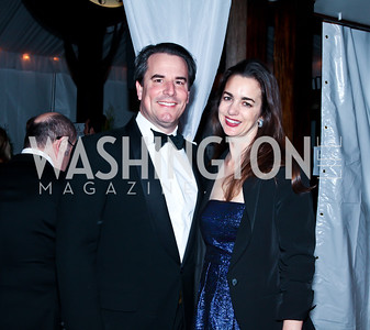 Stuart and Gwen Holliday. Photo by Tony Powell. Cafe Milano Inaugural Celebration. January 21, 2013