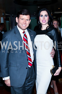 Bret and Amy Baier. Photo by Tony Powell. Cafe Milano Inaugural Celebration. January 21, 2013