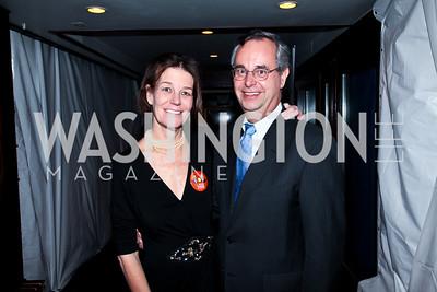 Tamera Luzzatto, David Leiter. Photo by Tony Powell. Cafe Milano Inaugural Celebration. January 21, 2013