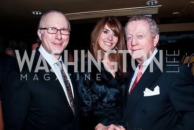 David Metzner, Lynly Boor, Tom Quinn. Photo by Tony Powell. Cafe Milano Inaugural Celebration. January 21, 2013