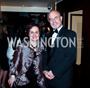 Lichtenstein Amb. Claudia Fritsche, Bruce Allen. Photo by Tony Powell. Cafe Milano Inaugural Celebration. January 21, 2013