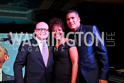 Franco Nuschese, Gina Adams, Paxton Baker. Photo by Tony Powell. Cafe Milano Inaugural Celebration. January 21, 2013