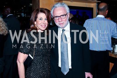 Lynn and Wolf Blitzer. Photo by Tony Powell. Cafe Milano Inaugural Celebration. January 21, 2013