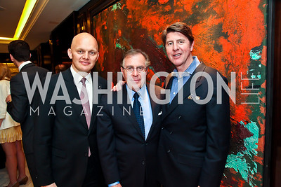 Alex Obertop, Horst Schulze, Bruce Bradley. Photo by Tony Powell. Capella Grand Opening. April 3, 2013